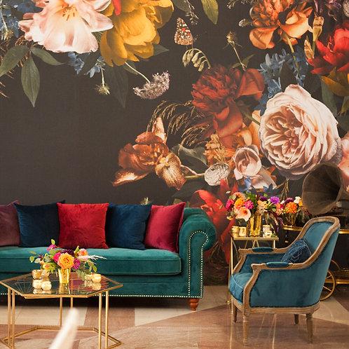 Dutch Masters 20' Floral Backdrop