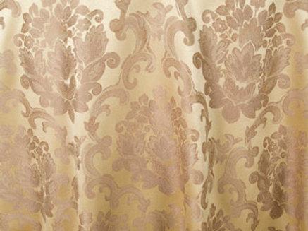 Beethoven Camel Damask Linen
