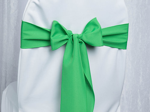 Poly Kelly Green Chair Sash
