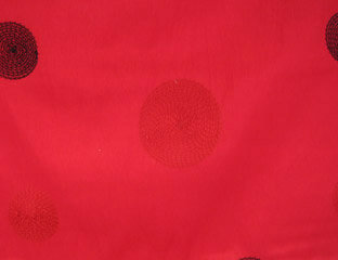 Circle Taffeta Valentine Linen