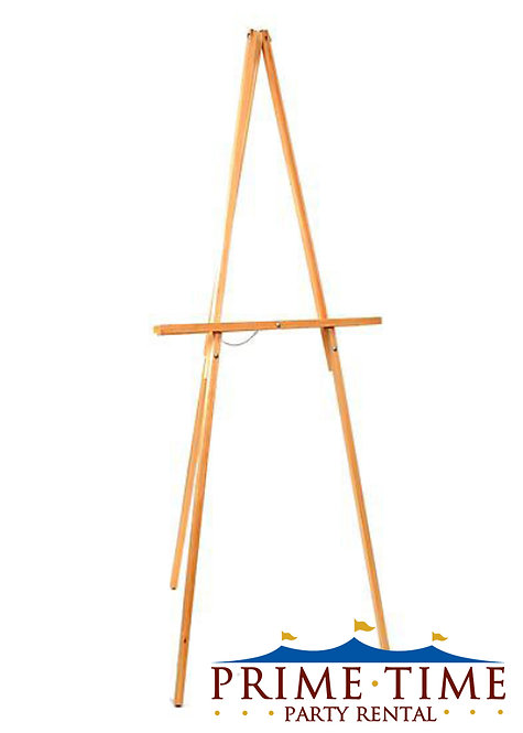 Floor Standing Wood Easel