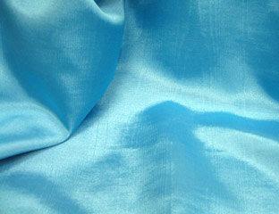 Bengaline Moire Turquoise Linen