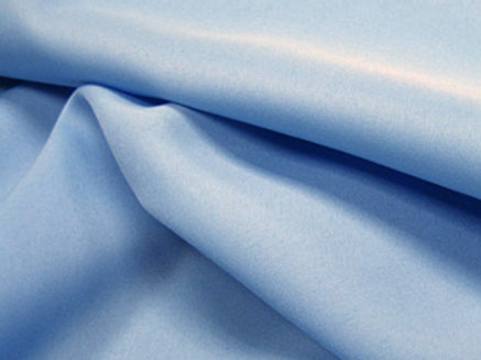 Solid Poly Powder Blue Linen
