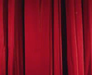 Velour Theater Red Specialty Drape Panel 12'