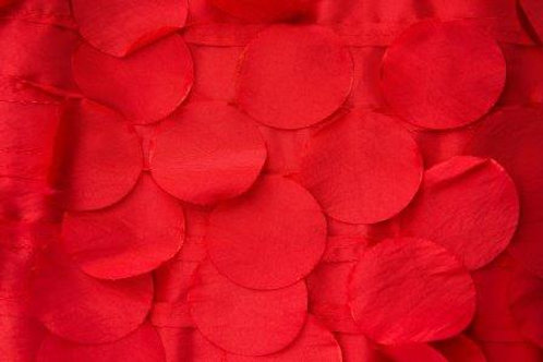 Taffeta Bubbles Red