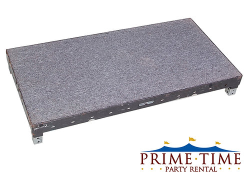 Adjustable Height Carpeted Stage