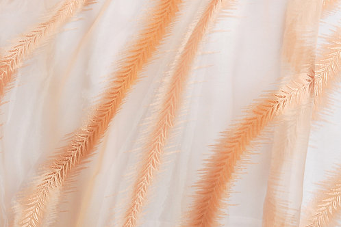 Sandy Palms Organza Gold Linen