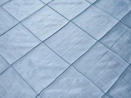 Pintuck Taffeta Light Blue Linens