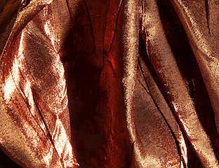 Iridescent Crush Copper Linen