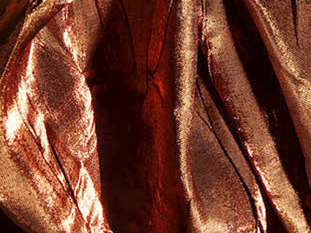 Iridescent Crush Brown Linen