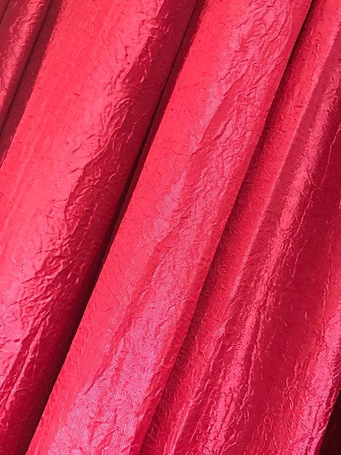 Iridescent Crush Burgundy Specialty Drape Panel 12'