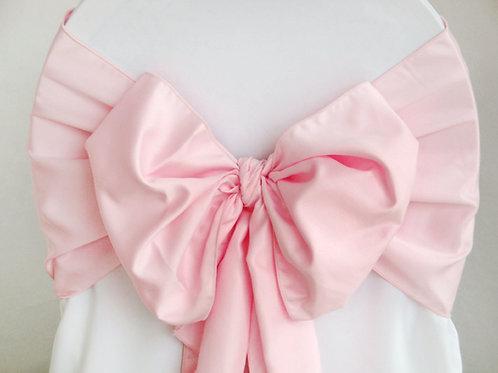Lamour Powder Pink Chair Sash