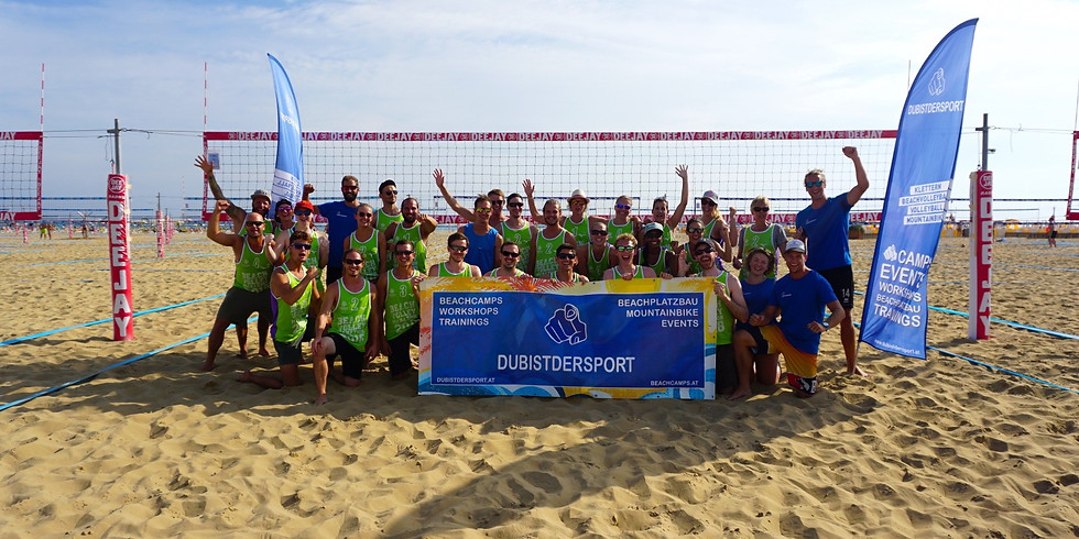 DUBISTDERSPORT beachtogether @Surfworldcup Neusiedl