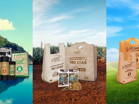 Histórico de plástico reciclado