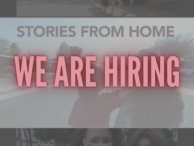 Join our team! We are hiring!