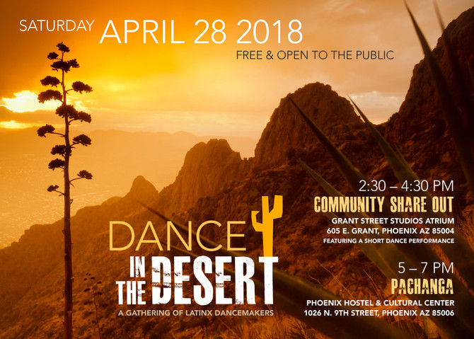 Dance in the Desert: A Gathering of Latinx Dancemakers