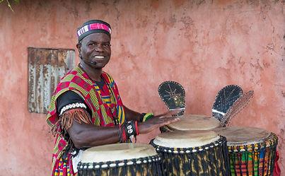 African drumming and dancing Perth