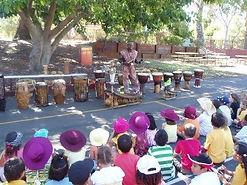African drumming school workshops Perth