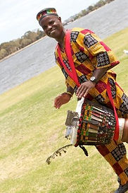 African drumming in Perth