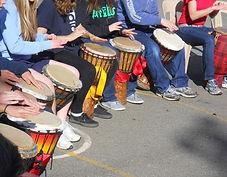 African drumming school incursions
