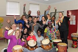 African drumming team building workshops Perth
