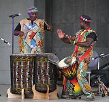 African drumming performance Perth