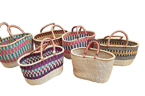 Bolga Baskets - Oval