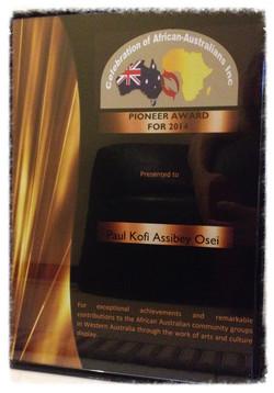 Pioneer Award