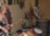 African drumming birthday parties