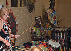 African drumming birthday parties