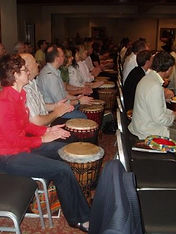 African drumming corporate team building workshops Perth