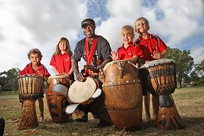 Community drumming workshops Perth