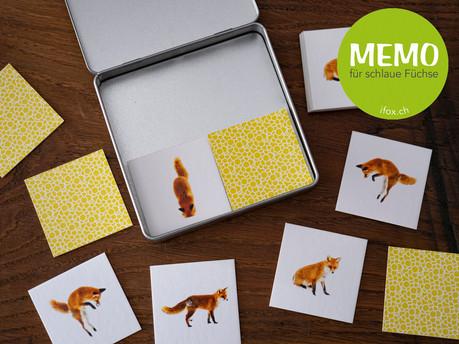 Memory für schlaue Füchse