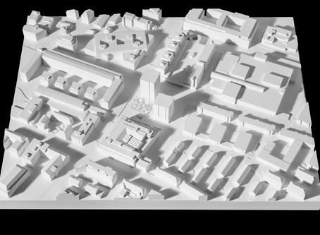 Architekturwettbewerb Gipsmodelle