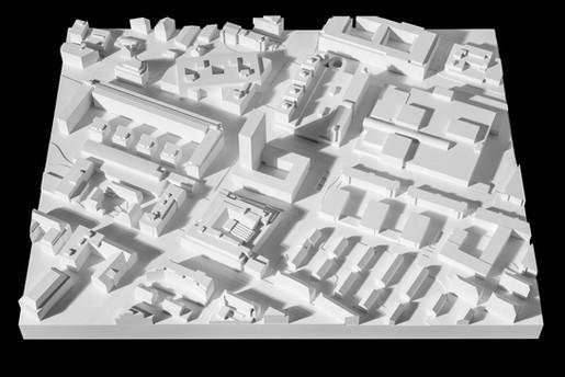 Objektfotografie Gibsmodelle für Architekturwettbewerbe