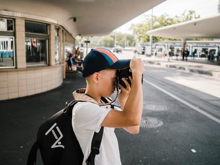 Streetfotografie in Zürich mit Jonas