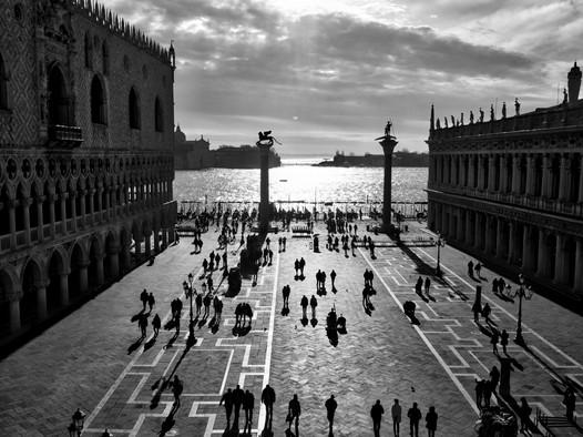 Selfiemania in Venedig