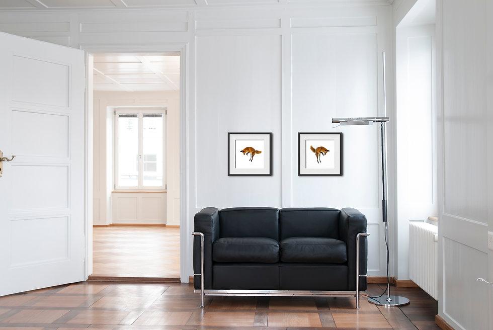 Fuchsfotos für ihren Wohnraum