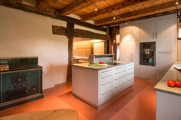 Innenarchitekturaufnahmen in einem renovierten Bauernhaus