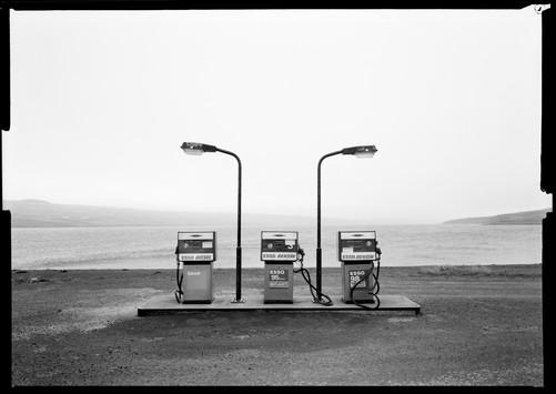 Island Tankstelle 4x5inch Linhof