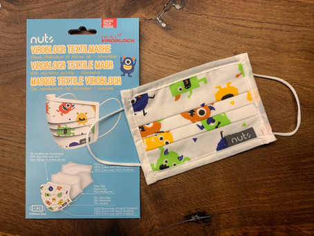 Ab sofort im Shop: KIDS Textilmaske für coole Ben-e-bike Driver...