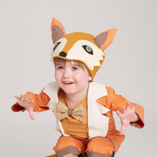 Boy in Fox Costume