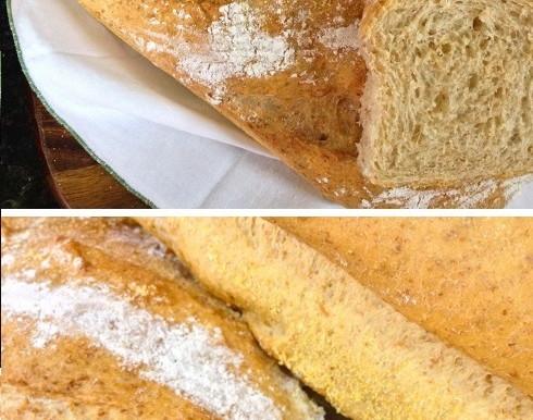 Pão integral fofinho e crocante