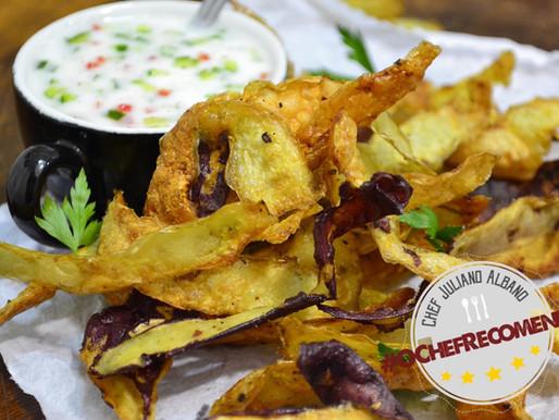 Dica: Chips de Casca de Batata