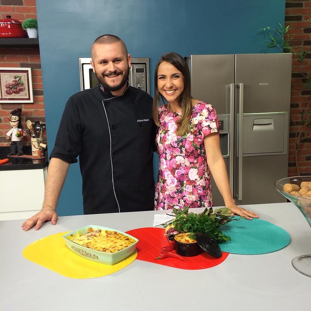 Bastidores do Programa | Blog Chef Juliano Albano