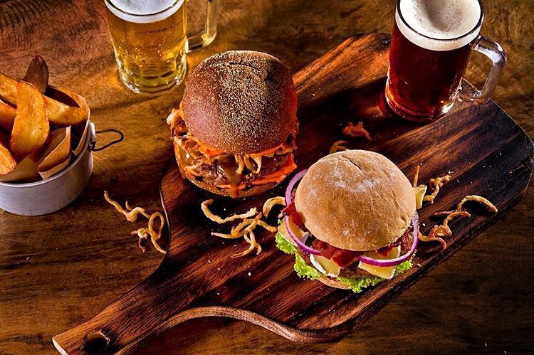 Food Styling Burger