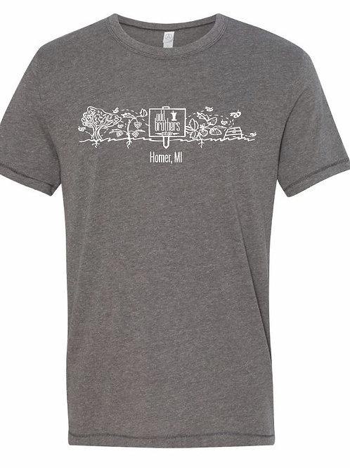 Odd Brothers Garden Art Shirt