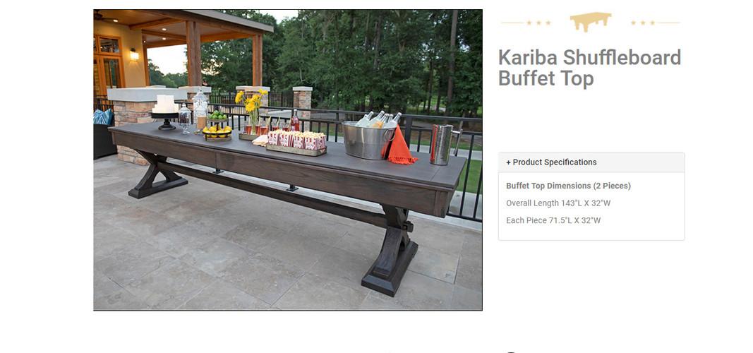 kariba buffet top.JPG