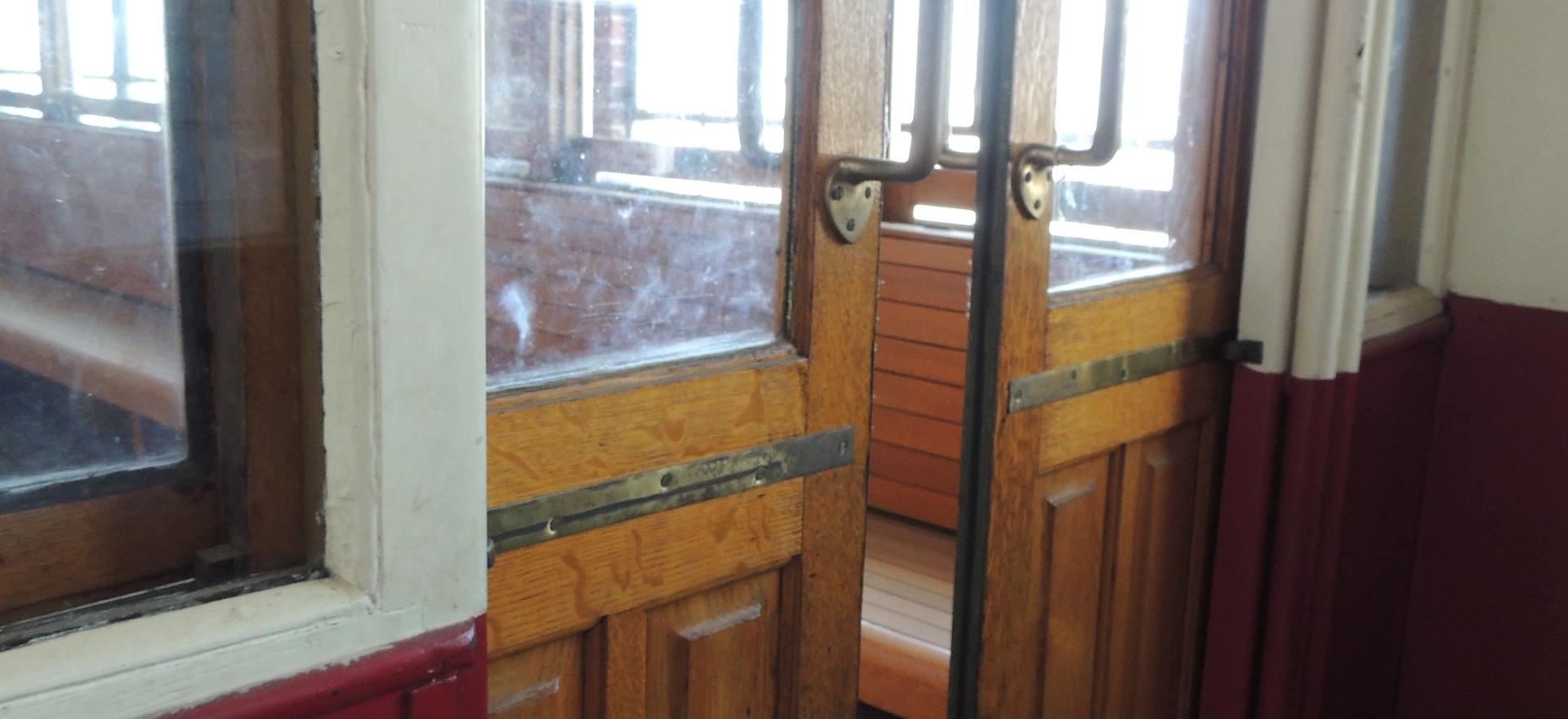 Sliding Doors on Trolley Car #1