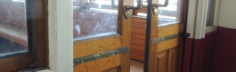 Sliding Doors on Trolley Car #1